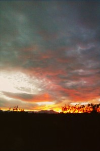 Arizona Monsoon Sunset.